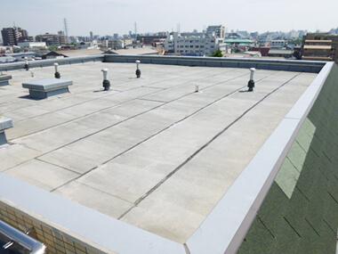 屋上防水工事 ビフォー